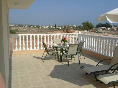Apartment in Cyprus, Nissi Golden Sands: Large veranda