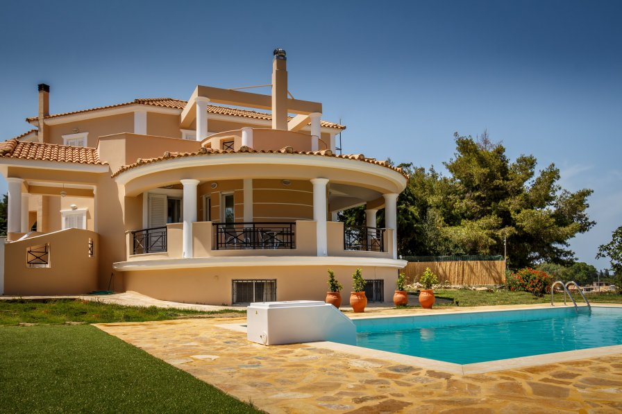 Villa in Greece, Kalpaki