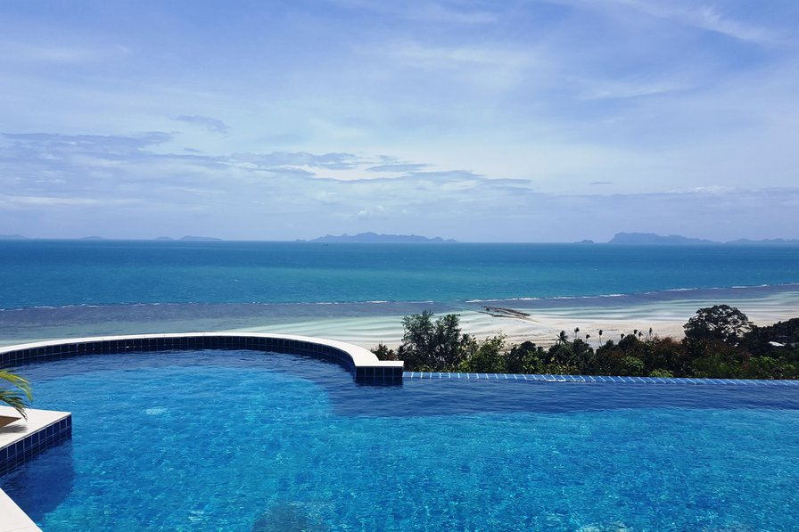 Villa To Rent In Ban Bang Makham Koh Samui With Private
