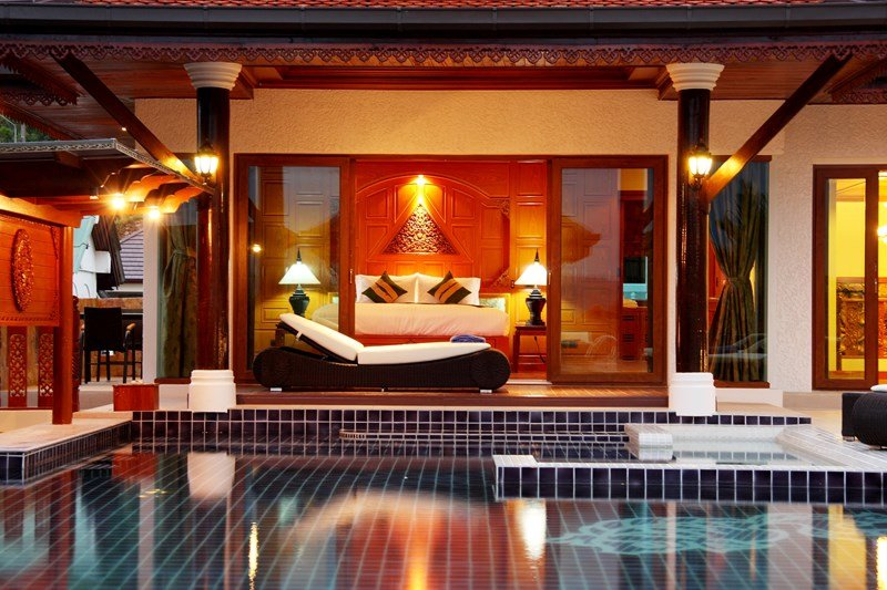 Villa in Thailand, Patong beach: Pool Access