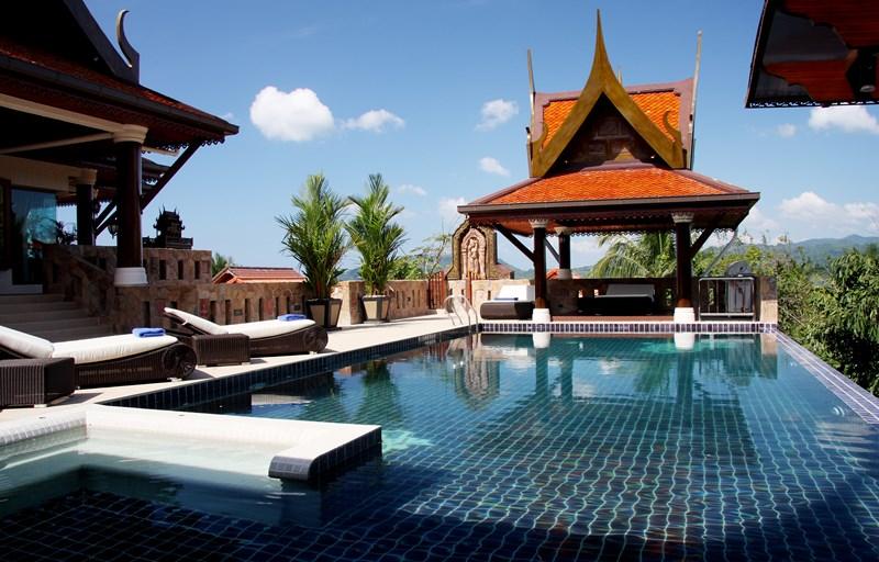 Villa in Thailand, Patong beach: Pool Access