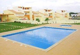 Villa in Fonte Santa, Algarve: Communal Gardens, Pool and rear view of House