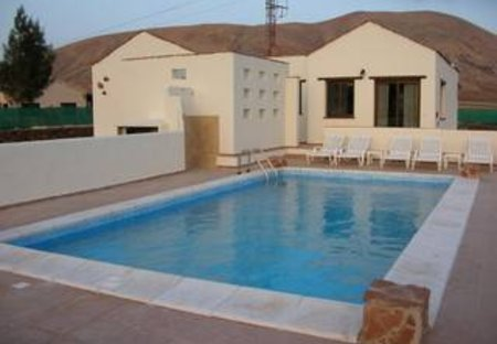 Villa in Villaverde, Fuerteventura: POOL AREA