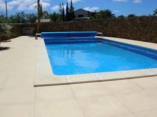 Villa in Spain, Lajares: pool area