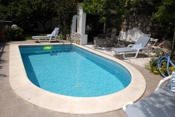Villa in Italy, Nerano: Swimming pool