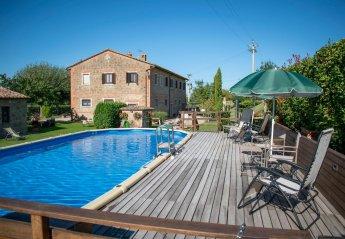 11 bedroom Villa for rent in Pienza