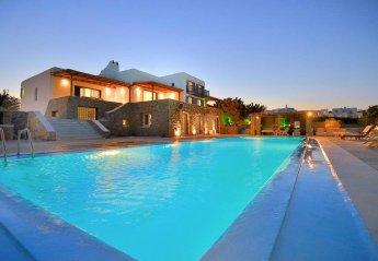 8 bedroom Villa for rent in Mykonos