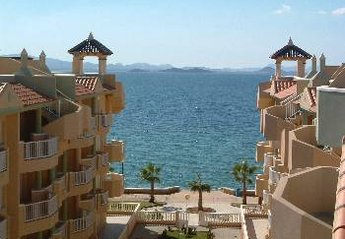 Penthouse Apartment in Spain, La Manga del Mar Menor: View from apartment