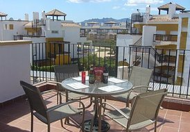 Sunshine holiday apartment in Costa Almeria, Spain