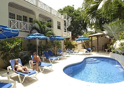Apartment in Barbados, Mullins Bay: Pool Side View