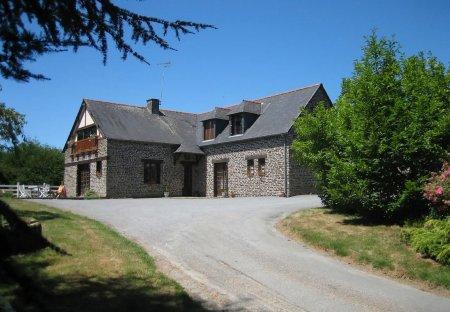 House in Saint-James, France