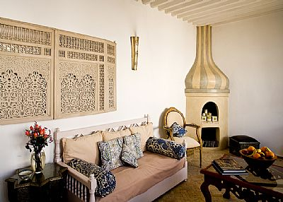 Riad in Morocco, Essaouira: Salon