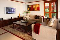 Villa in Thailand, Patong beach: Living area - TV corner