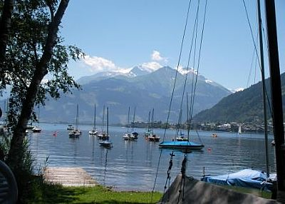 Apartment in Austria, Zell am see: Lake at sailing club