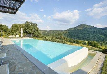 8 bedroom Villa for rent in Anghiari