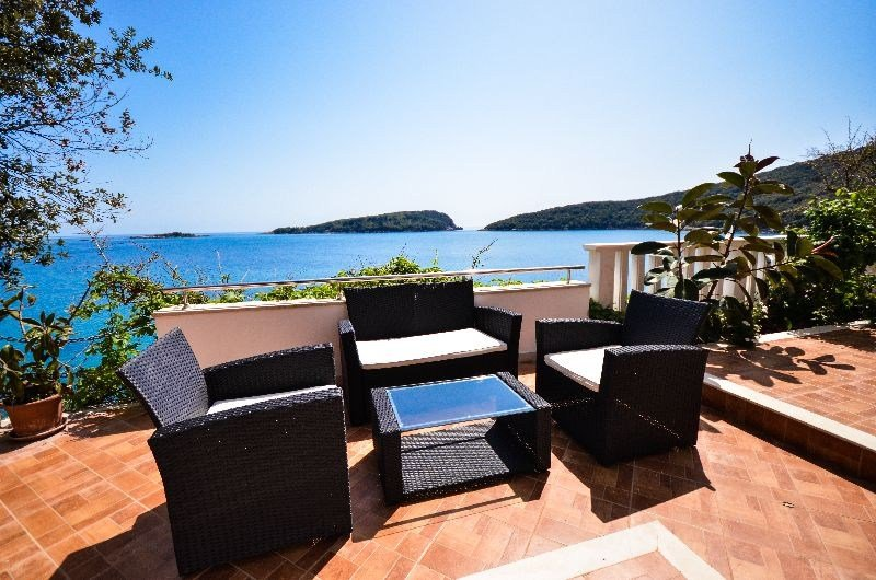 Owners abroad A dream paradise beach villa with private beach near Dubrovnik