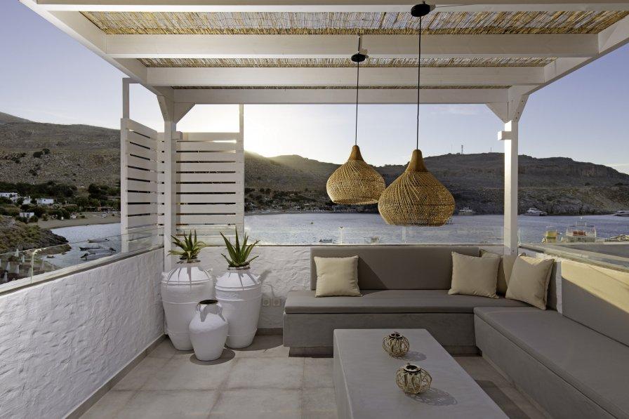 Studio apartment in Greece, Lindos