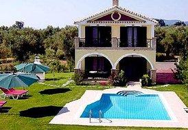 5 guest villa in Zante