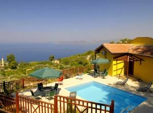 Villa in Turkey, Faralya: Pool area