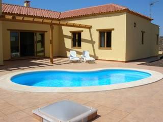 Villa in Spain, La Oliva: POOL AND TERRACE