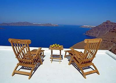 Studio apartment in Greece, Fira Town: .