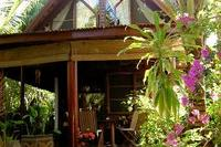 Villa in Thailand, Bang Por: view of house form the sala