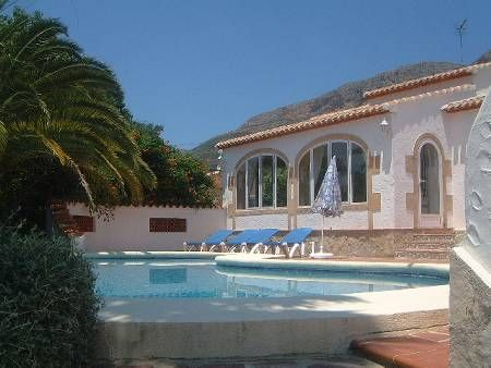 Villa in Spain, El Montgo: Pool Area