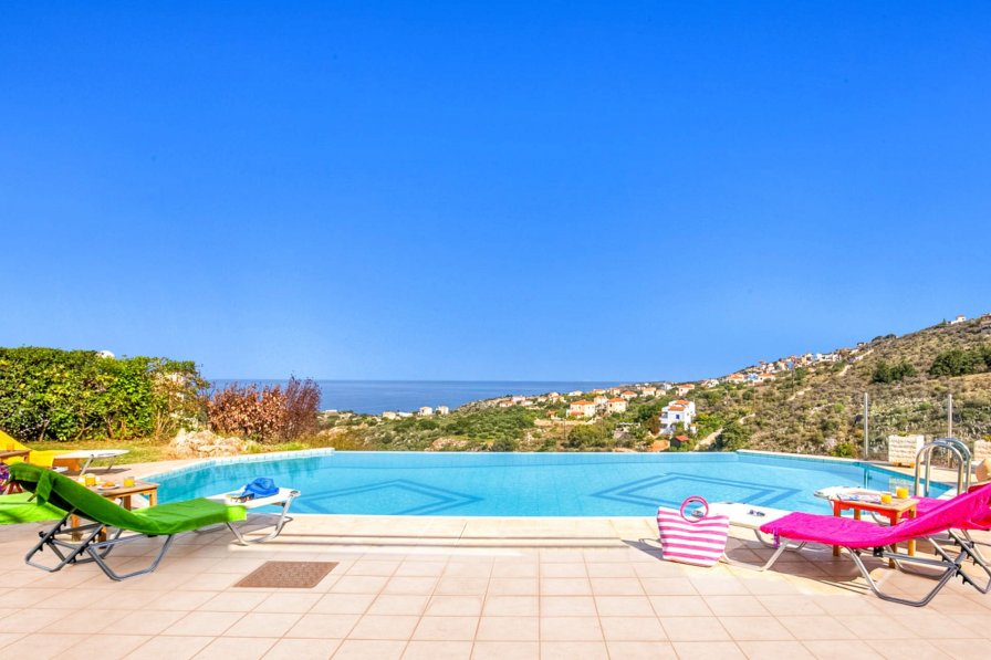 Villa in Greece, Plaka