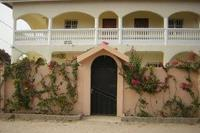 Villa in Gambia, Bijilo: Front view of the villa
