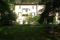 House in Italy, Bagni di Lucca: Garden view of Puccini house