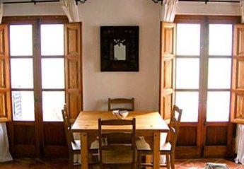 Apartment in Spain, Bubion: dining area