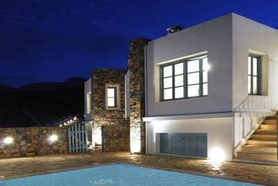 Villa in Greece, Mohlos: Exterior