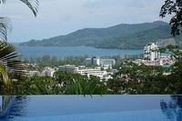 Villa in Thailand, Patong beach: sea view