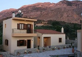 Traditional apartments in Crete