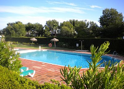 Apartment in Spain, Miraflores: Good sized pool available for all to use