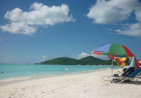 Villa in Jolly Harbour, Antigua and Barbuda: Jolly Beach
