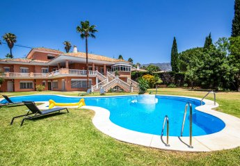 7 bedroom Villa for rent in Mijas Golf