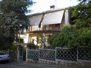 Villa in Italy, Vernasca: front of villa