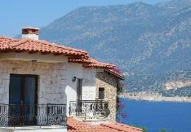 Villa in Turkey, Kaş: Villa Ates pool and view