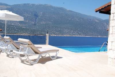 Villa in Turkey, Kaş: Villa Gunes view