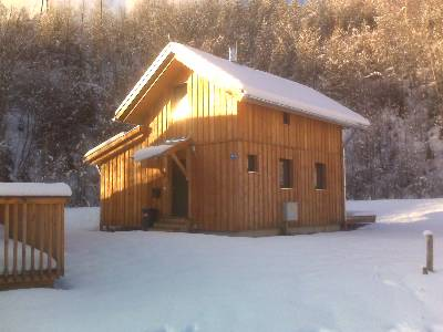 Chalet in Austria, Stadl an der Mur: The Chalet in winter