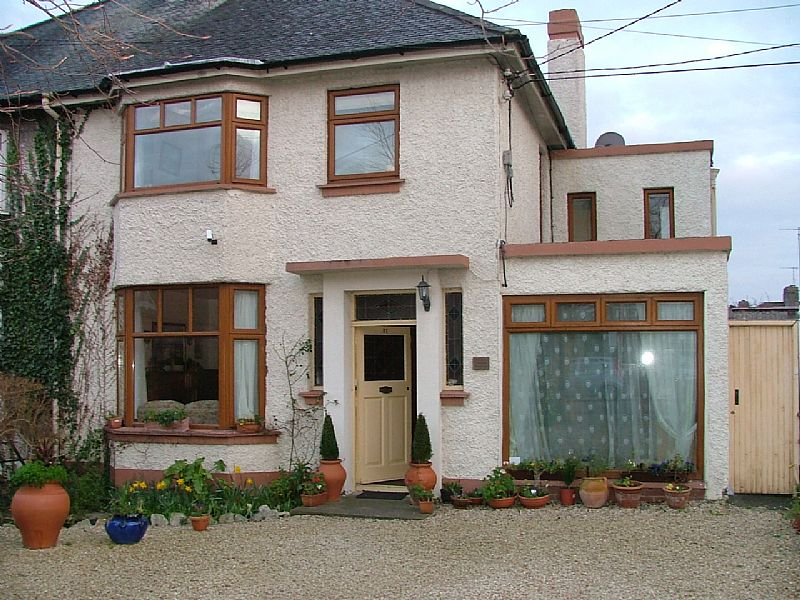 House in Ireland, Dun Laoghaire: Front of House