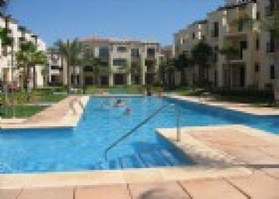Apartment in Spain, Roda Golf Resort: Pool outside La Casita