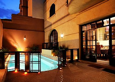 Villa in Morocco, Marrakech: Luxurious villa with private pool in the centre of the Red City