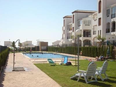 Apartment in Spain, La Cinuelica: Large communal pool area