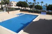 Apartment in Spain, Cabo Cervera: quiet communal pool overlooking the sea