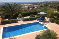 Villa in Cyprus, Coral Bay Centre: Villa Xemxija - the pool and Mediterranean Sea