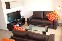 Apartment in Spain, La Torre Golf Resort (Polaris World): A Well Equiped Modern Lounge Area with U..