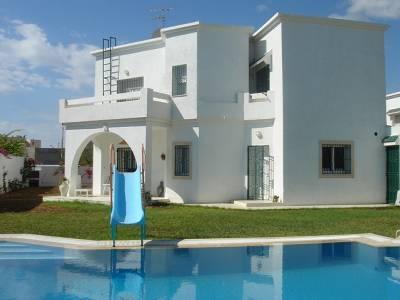 Villa in Tunisia, Hammamet: General villa view