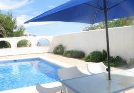 Villa in Benitachell, Spain: Luxury 2 bed villa with private pool in arched courtyard